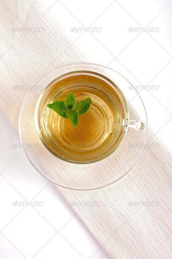 mint tea - Stock Photo - Images