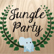 Jungle Birthday Invitation - GraphicRiver Item for Sale