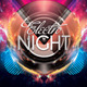 Electro Night Flyer Template - GraphicRiver Item for Sale