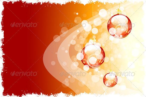 Grunge Christmas Background - Christmas Seasons/Holidays