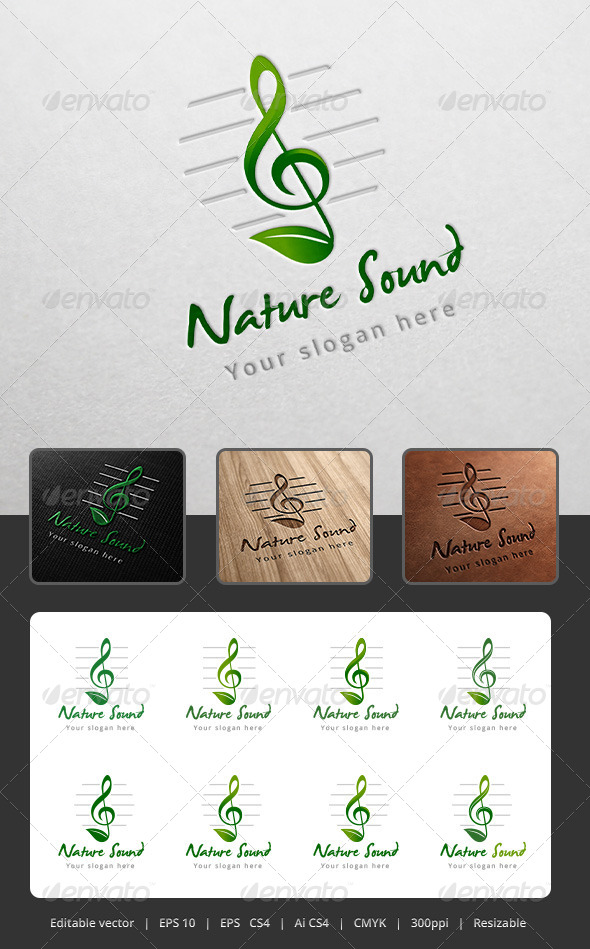 Nature Sound Logo
