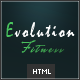 Evolution Fitness - Responsive HTML5 Template Nulled