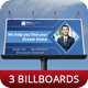 Creative Corporate Billboard Vol 3 - GraphicRiver Item for Sale