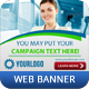 Corporate Web Banner Vol 2 - GraphicRiver Item for Sale