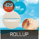 Travel Agency Rollup Or X-Banner - GraphicRiver Item for Sale