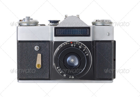 Retro Camera - Stock Photo - Images