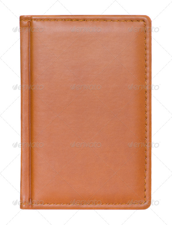 Brown Diary - Stock Photo - Images