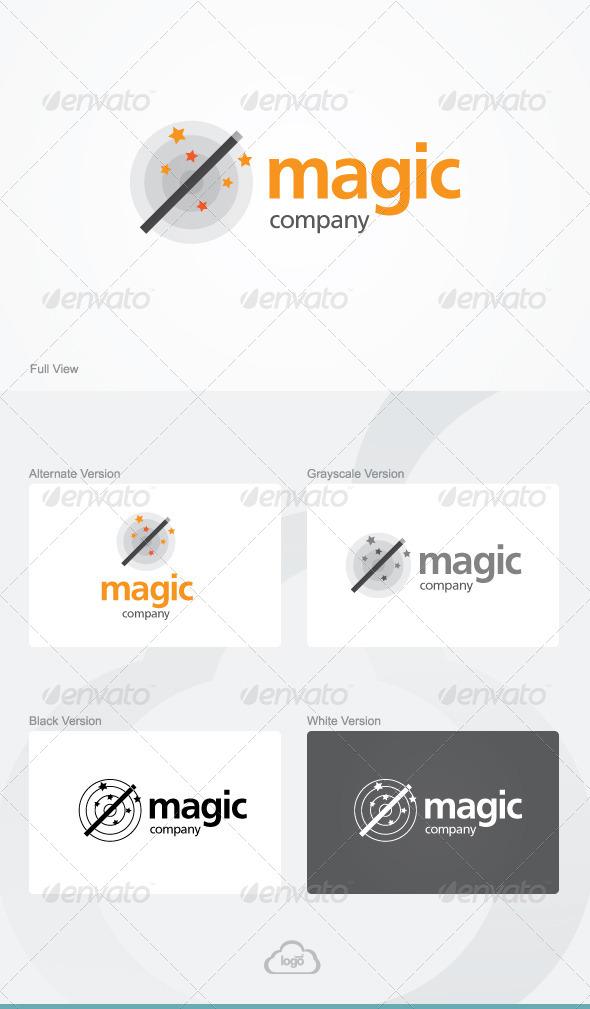 Magic Company Logo Template By Logoheaven Graphicriver