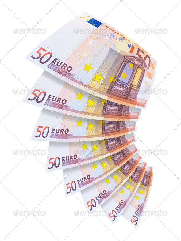 Euro Banknotes - Stock Photo - Images