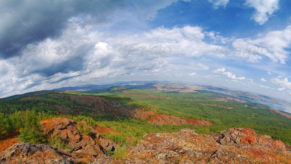 Ural Mountains. Russia - Stock Photo - Images