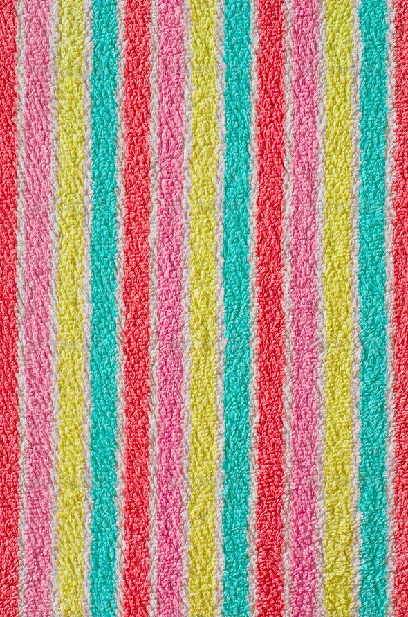 Bath Towel Texture - Stock Photo - Images