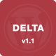 Delta - Flat Designed WP Mobile Theme Nulled