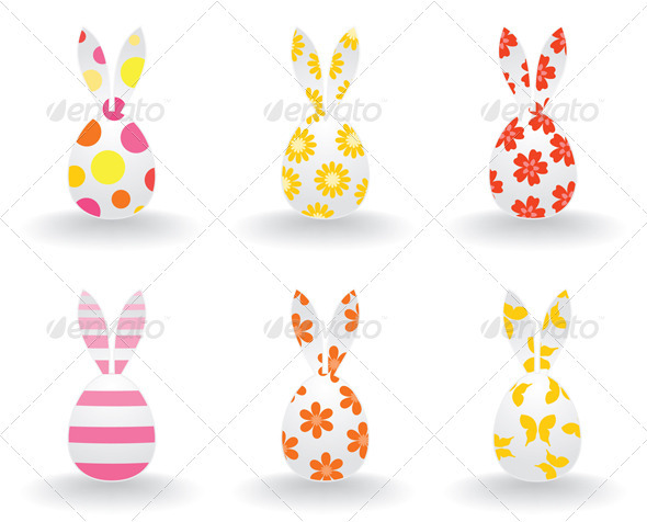 Easter hares - Animals Characters