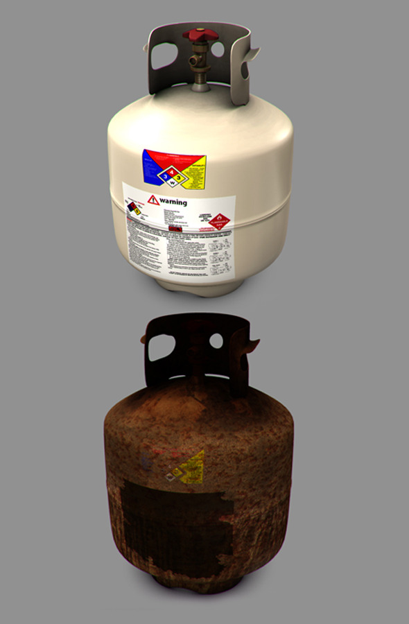 Propane Tank - 3DOcean Item for Sale