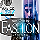 Fashion Flyer or Magazine Cover Template - GraphicRiver Item for Sale