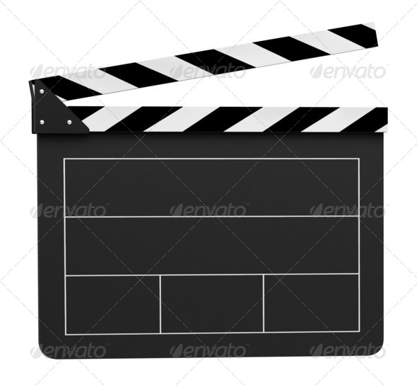 Clapper board - Stock Photo - Images
