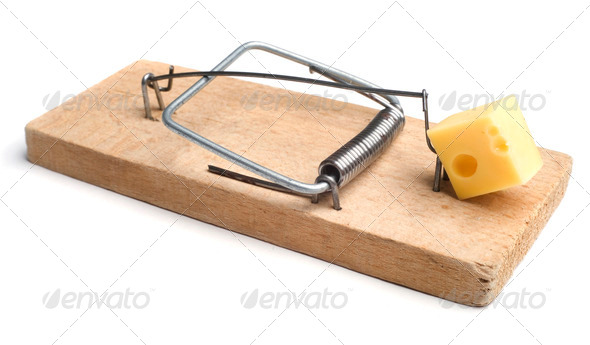 mousetrap - Stock Photo - Images