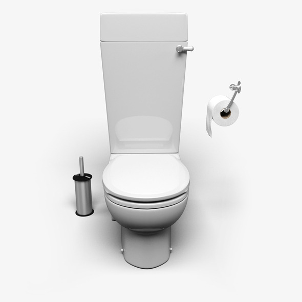 Toilet - 3DOcean Item for Sale