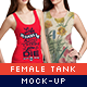 Female Tank Mock-Up Pack - GraphicRiver Item for Sale