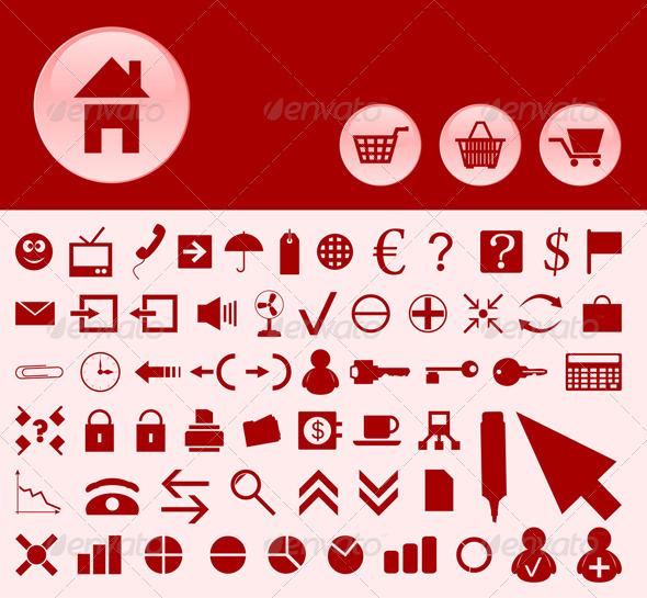 Office icons2 - Web Elements Vectors