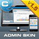 Constellation complete admin skin - ThemeForest Item for Sale