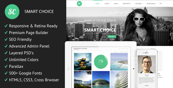 SmartChoice - Responsive Multi Purpuse Theme