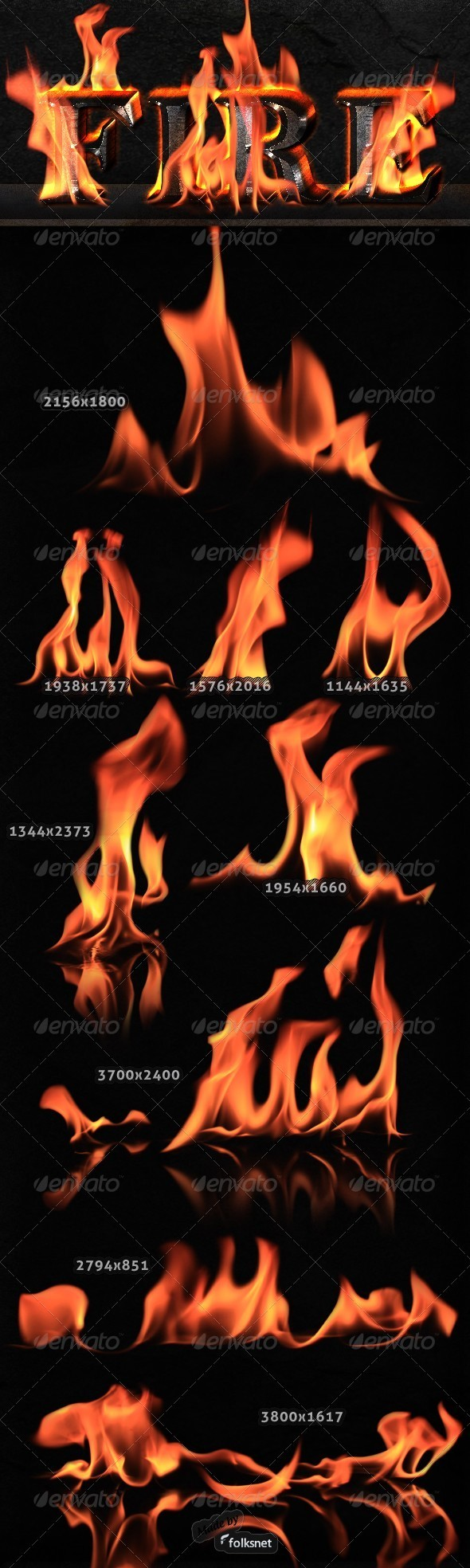 Isolated Fire - Miscellaneous Isolated Objects