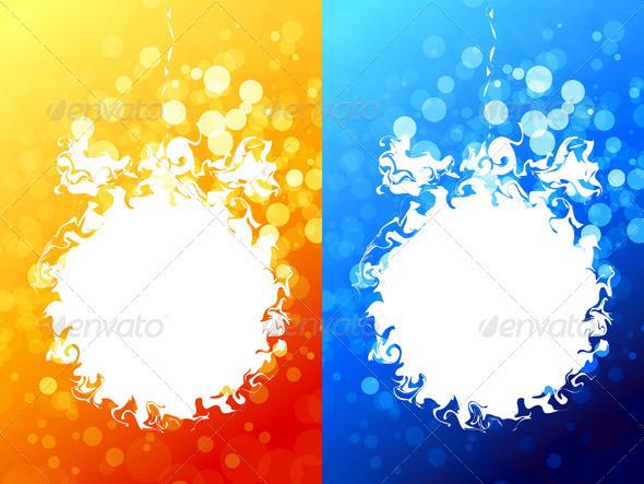 Abstract Christmas Ball - Christmas Seasons/Holidays