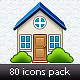 80 icons pack - GraphicRiver Item for Sale