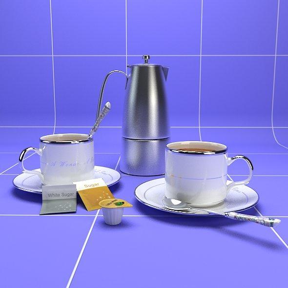 Coffee widgets - 3DOcean Item for Sale