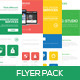 Flat Website Design Flyer - GraphicRiver Item for Sale