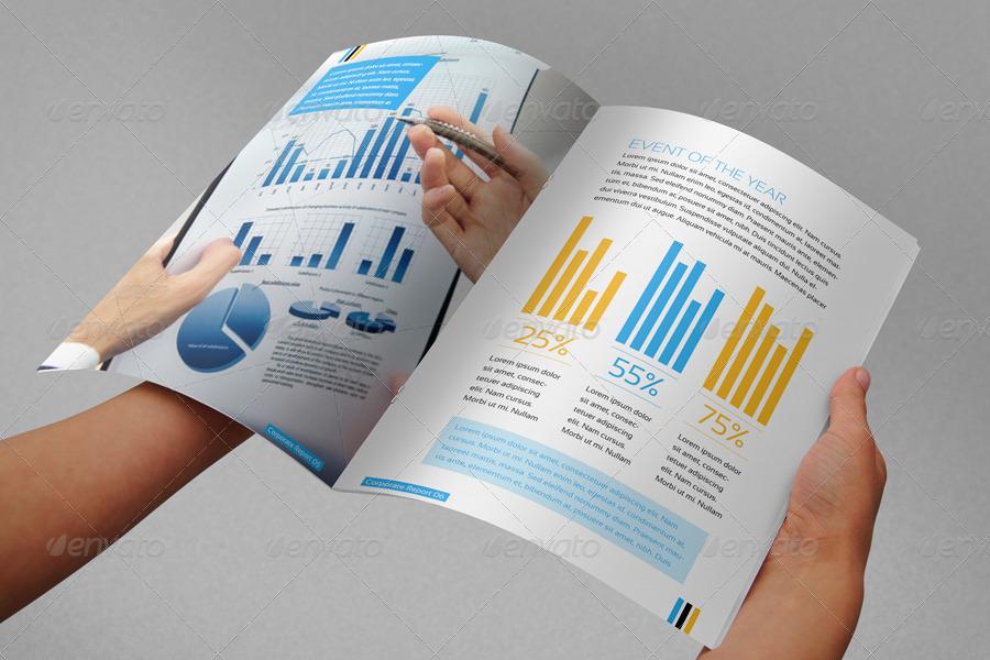 Corporate Annual Report / Brochure By Contestdesign | Graphicriver