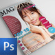 Photoshop Magazine Template Vol.2 - GraphicRiver Item for Sale