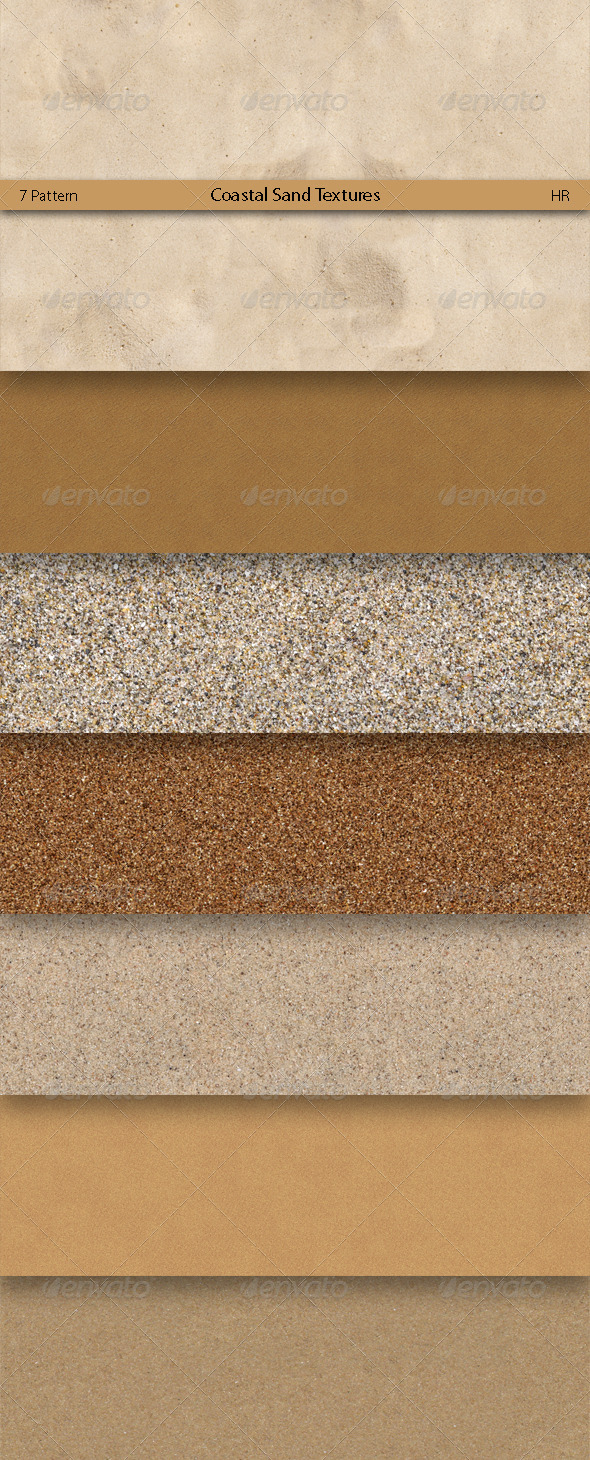 Coastal Sand Surface Textures  - 3DOcean Item for Sale