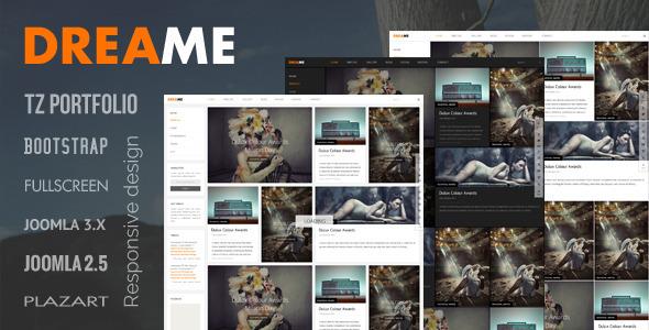 Dreame - Responsive Joomla Template - Creative Joomla