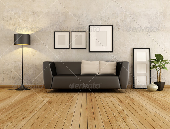 living room - Stock Photo - Images
