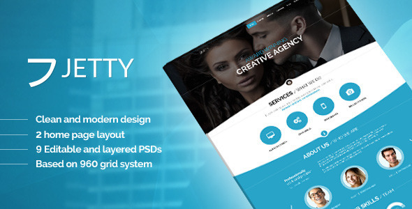 JETTY - PSD Template