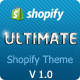 Ultimate | Responsive Shopify Theme Nulled