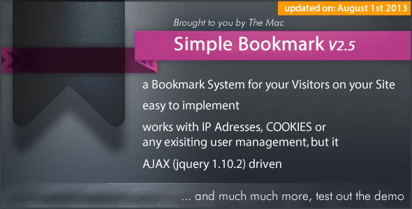 Simple Bookmark nulled free download