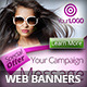 Fashion & Beauty Campaign Web Banners - GraphicRiver Item for Sale