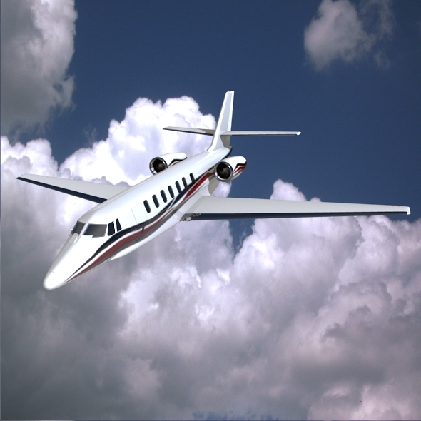 Cessna Citation Sovereign private jet - 3DOcean Item for Sale