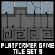 Platformer Game Tile Set 9 - GraphicRiver Item for Sale