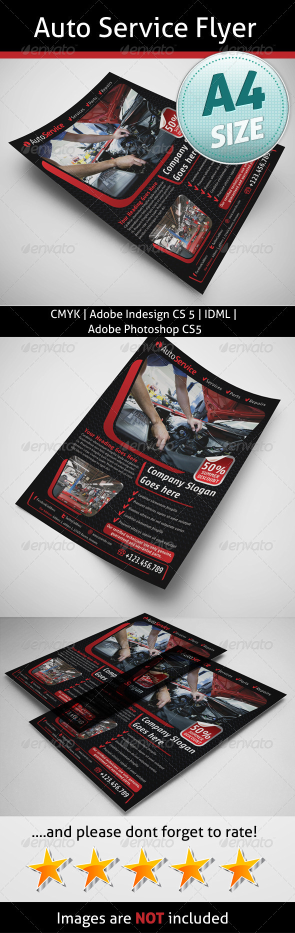 Auto Service Flyer - Corporate Flyers
