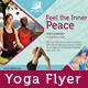 Yoga Flyer/ Print ad - GraphicRiver Item for Sale