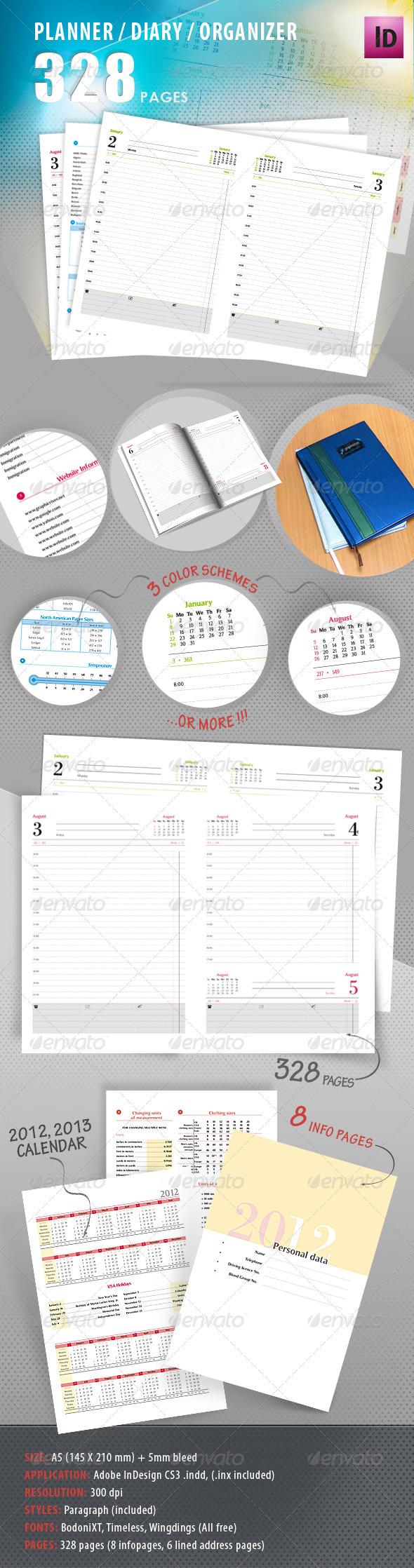 Planner, Diary, Organizer - Calendars Stationery