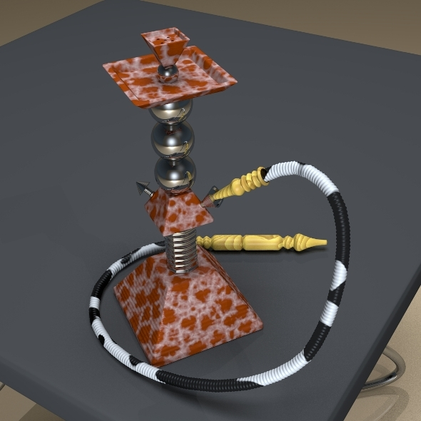 Pyramid Hookah - 3DOcean Item for Sale