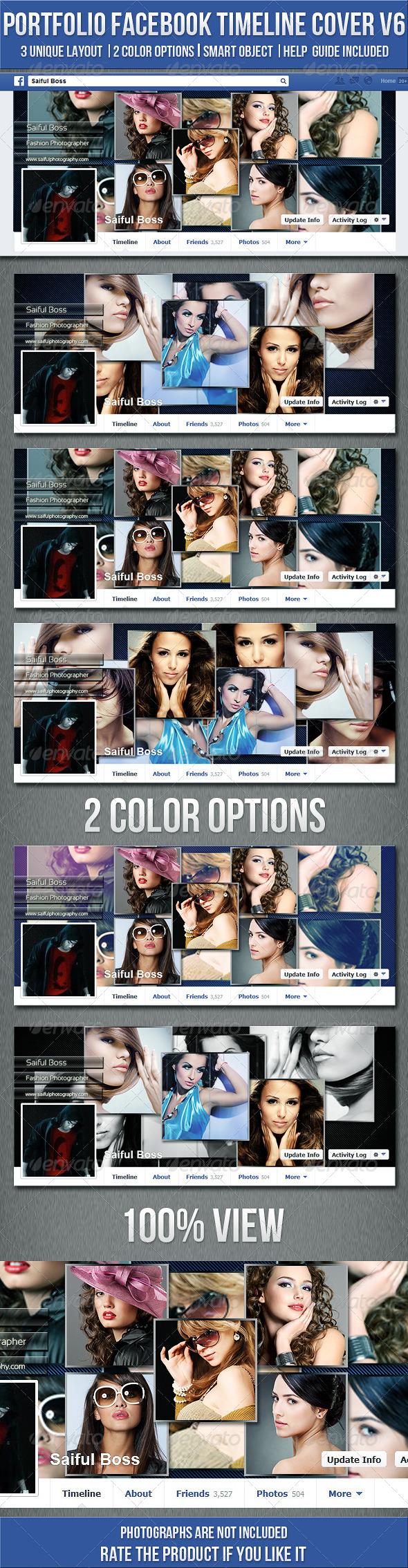 Portfolio FB Timeline Cover V6 - Facebook Timeline Covers Social Media