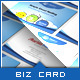 Cloud Hosting Service - Business Card Template - GraphicRiver Item for Sale