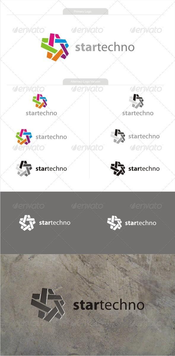 Startechno - Symbols Logo Templates