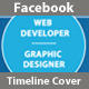 Web Developer & Graphic Designer FB Timeline Cover - GraphicRiver Item for Sale